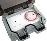 TIMER IP66 1GANG WEATHERPROOF