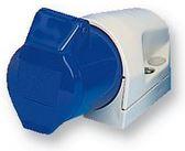 16A BLUE ANG WALL SKT 230V 2PE