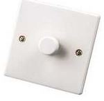 1GANG 1000W DIMMER WHITE